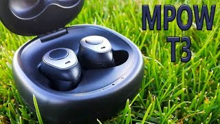 Mpow T3 Unboxing/Reiview The cheapest....Bluetooth Earbuds