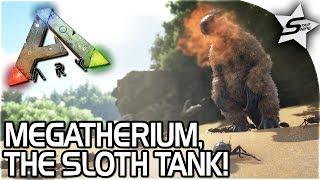 BEST CHITIN HARVESTER, SLOTH TANK! - MEGATHERIUM TAMING in ARK Survival Evolved - ARK NEW UPDATE 258