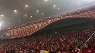 Dortmund vs Union Berlin / Stimmung Gästeblock / DFB Pokal / 2. Runde