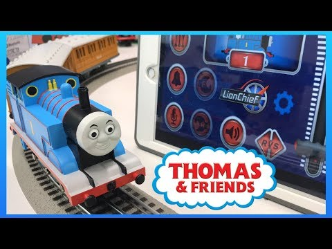 LIONEL THOMAS APP CONTROLLED TRAIN SET Unboxing and Set Up