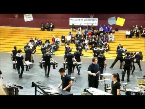 """Dream"" - PG Winter Percussion at Woodcreek High School 2018"