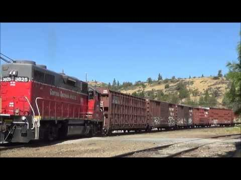 [HD] Shasta Route Railfanning Series Days 1 and 2: The CORP, NS Power, and More (09/09-09/11/15)