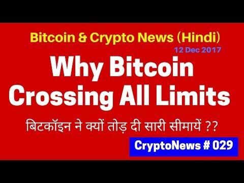 Why Bitcoin Crossed all Limits, Bitcoin & crypto News 12dec17,बिटकॉइन ने क्यों तोड़ दी सारी सीमायें ?
