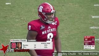 Bradley Chubb (NC State EDGE) vs South Carolina 2017