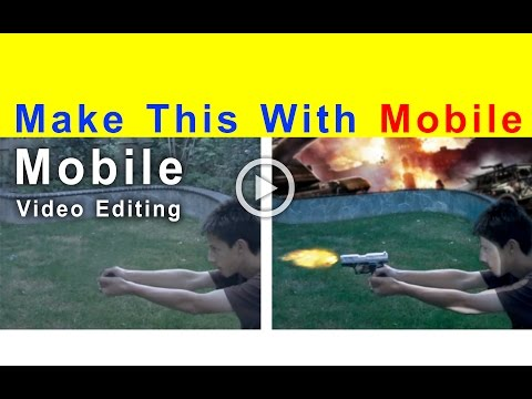 Creating Gun fire in Kine Master | Mobile Video Editor