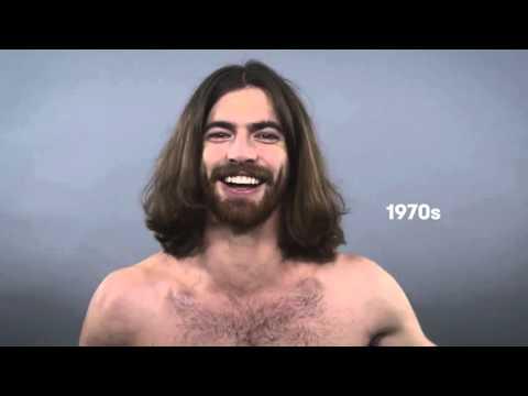 100 лет мужской моды за 1 минуту 720p