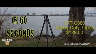 Da Box (Unboxing #1) Heavy Duty Tripod Model LYT-C380