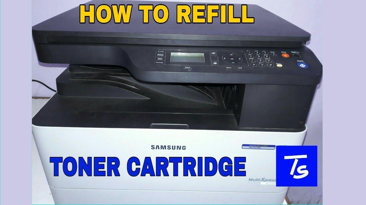 REFILL TONER CARTRIDGE in xerox/Printer  ( Samsung K2200 ) ( English )