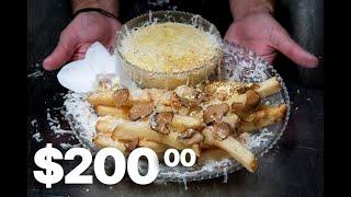 Картошка по цене золота. 200 долларов за порцию картофеля фри