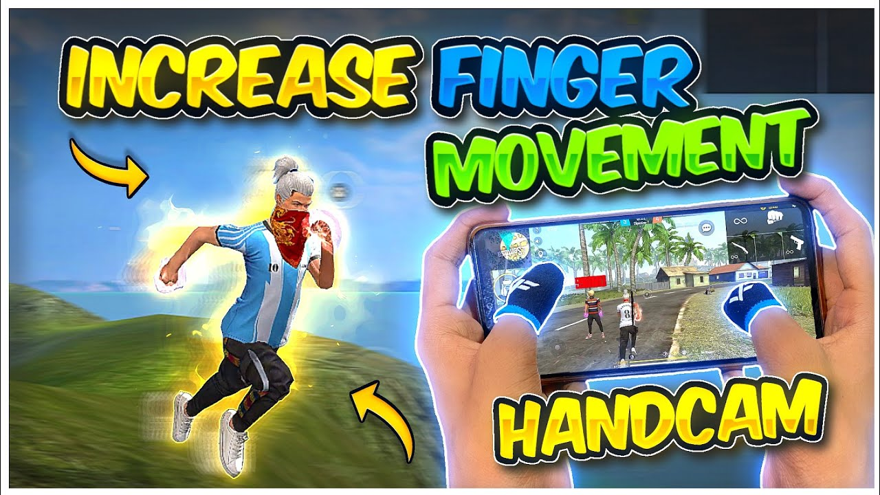 How To Increase Finger Speed In Free Fire 🔥| Fast Finger Movement Trick Handcam |-Garena Free Fire