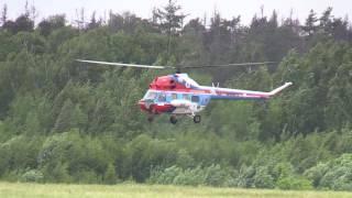 """Вертолет Ми-2 прыгает в воздухе """"Вертослет-2016"""""""