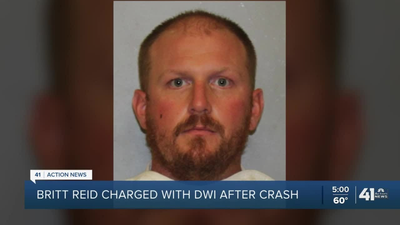Former Chiefs coach Britt Reid charged with DWI in crash that ...
