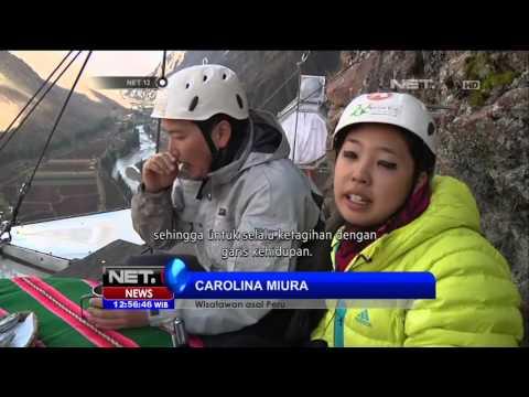 Destinasi Wisata Hotel Unik di Tebing Tinggi, Peru - NET12