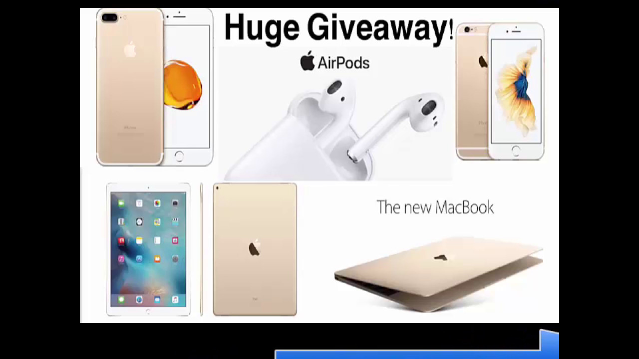 apple products giveaway huge apple product giveaway iphone 7 iphone 6s 1873