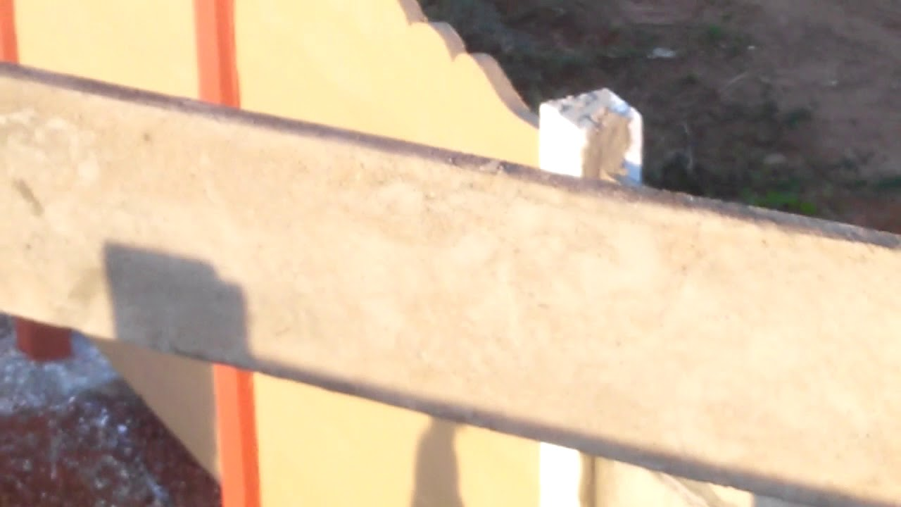 PreCast Fencing Pole Manufacturing PreCast Compound Boundary Walls ...