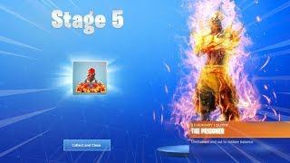 How To UNLOCK STAGE 5 Prisoner Skin! STAGE 5 PRISONER KEY LOCATION! (Fortnite Stage 5 Prisoner)