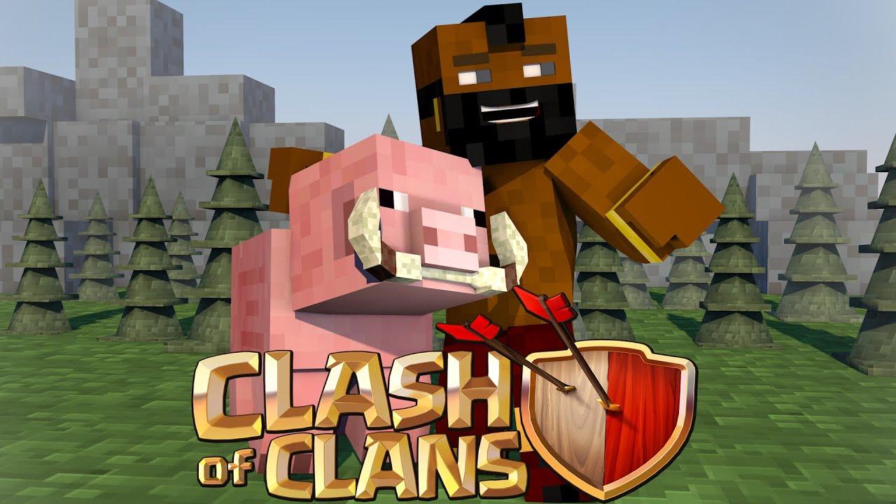 Скачать мод на майнкрафт 1.8 на clash of clans