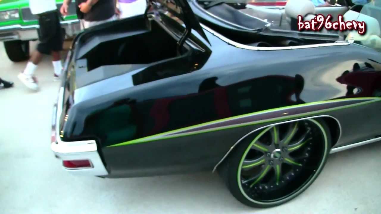 Black  Green Pontiac Gto  U0026quot The Judge U0026quot  Convertible On 22