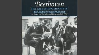 Quartet No. 13 in B-Flat Major, Op. 130: III. Andante con moto, ma non troppo