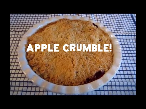 How To Make An English Apple Crumble
