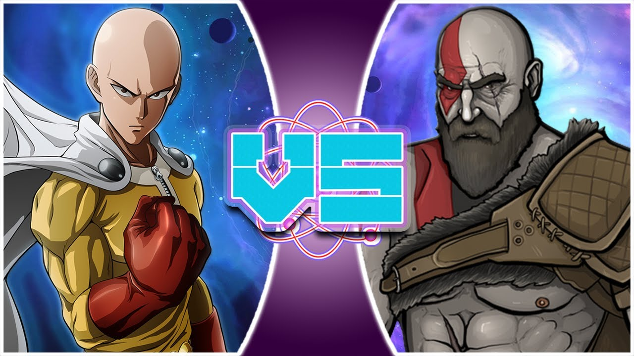 SAITAMA vs KRATOS! (One Punch Man vs God of War) | REWIND ...