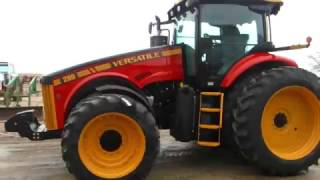 Versatile 290 Tractor with the new color scheme