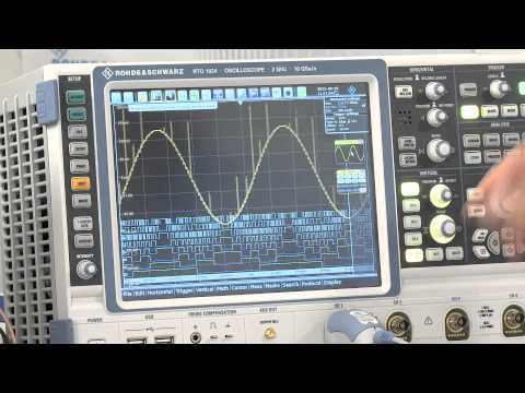 Testing ADCs In Embedded Systems With Rohde & Schwarz Oscilloscopes