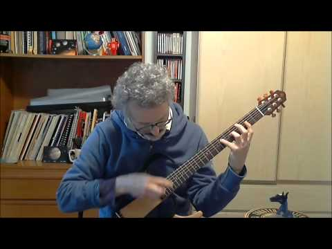 Björk - Pagan Poetry - solo fingerstyle guitar