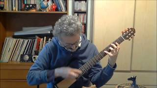 Björk - Pagan Poetry - solo fingerstyle guitar