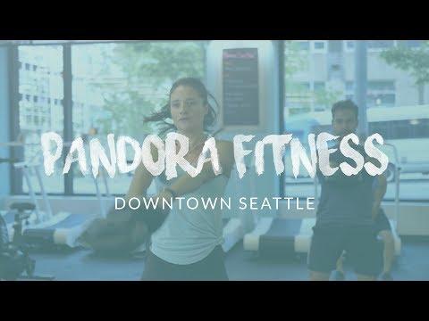 PANDORA FITNESS Class   Group Fitness Promo   Downtown Seattle, WA