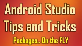 Android Studio Tips and Tricks 6 - Import and Optimize unused packages on the fly