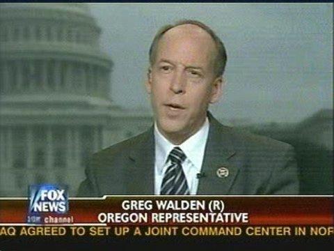Greg Walden on Fox News discussing eastern Oregon economy