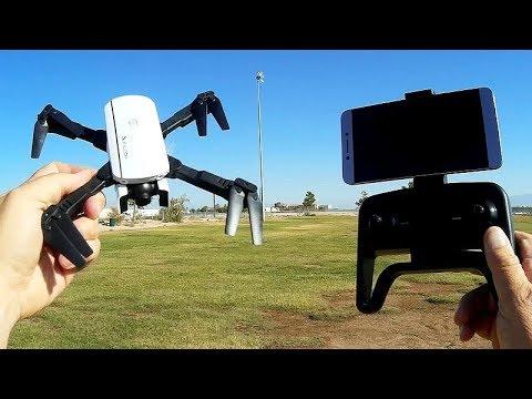 Фото 1808 Falcon Good Cheap Beginners FPV Camera Drone Flight Test Review