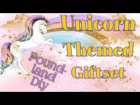 Unicorn Themed Gift Hamper