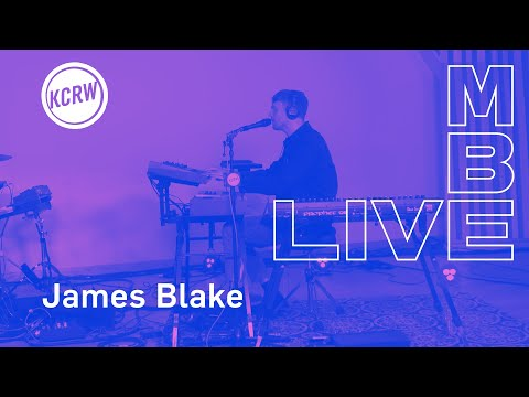 "James Blake performing ""I&39;ll Come Too""  on KCRW"