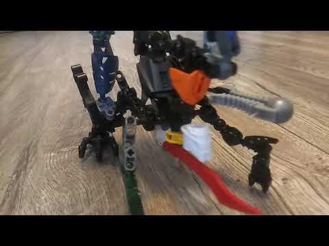 Самоделка Лего фабрика героев всадник на скорпионе