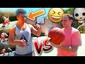 Irl Basketball 1 V 1 Vs Worst Player Ever? The Nutmeg Though!?!? video