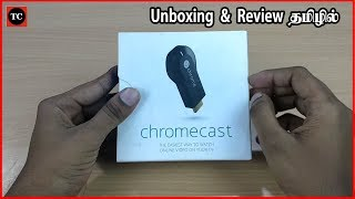 Google Chromecast Unboxing & Review in Tamil/தமிழ்