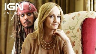 Fantastic Beasts: J.K. Rowling Responds to Johnny Depp's Casting as Grindelwald - IGN News