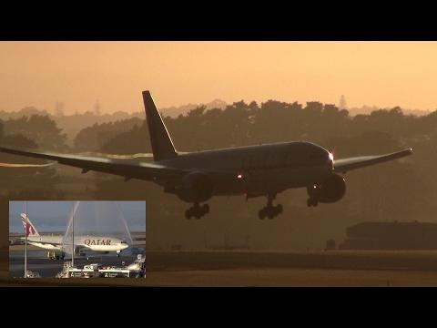 ✪ INAUGURAL ✪ WORLD'S LONGEST ROUTE ✪ Qatar Boeing 777-200LR ✈ Auckland Airport