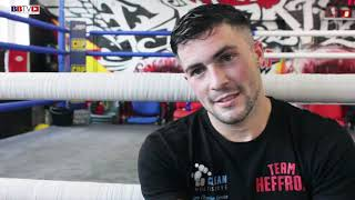 MARK HEFFRON: BACK IN ACTION ON BLACKFLASH SHOW THEN WANTS TITLE FIGHTS!