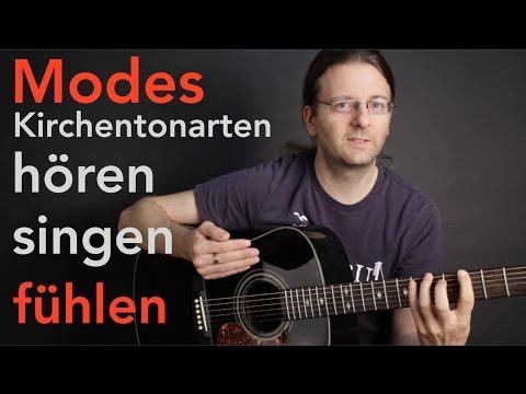 Kirchentonarten / Modes fühlen, hören und singen lernen