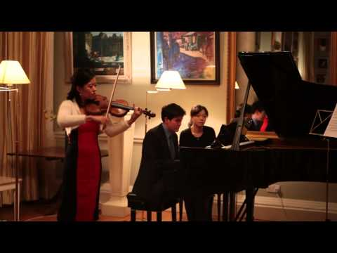 WEN WEN & James Baillieu - Dawn on the Miao Mountain (Violin)