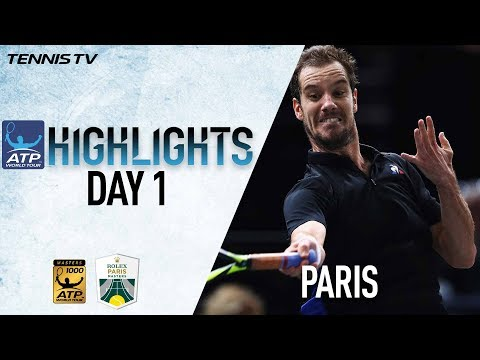 Highlights Gasquet Chardy Advance Monday Paris 2017