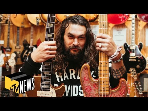 Jason Momoa On 'See,' Aquaman & 'Game Of Thrones' | Personal Space | MTV News