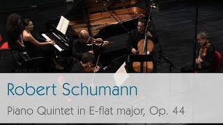 Robert Schumann - Piano Quintet in E-flat major, Op. 44 - Zheeyoung Moon - Best of Classical Music