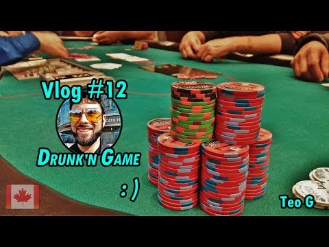 DRUNK Poker at Rama | 2/5 NL Holdem | Poker Vlog #12