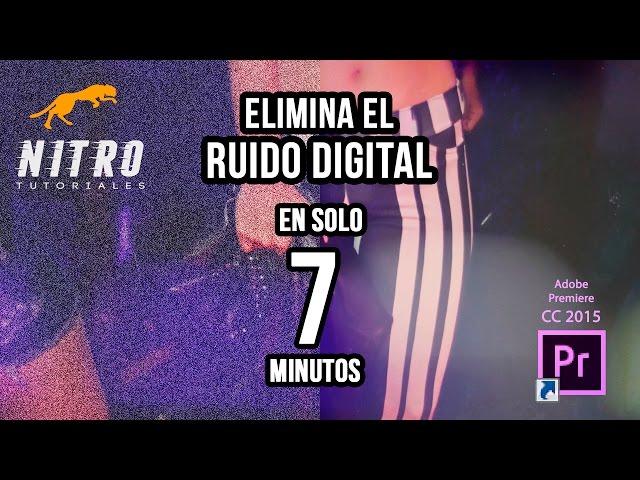 Eliminar Ruido en Video con Adobe Premiere CC 2015
