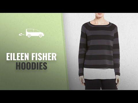 Eileen Fisher Hoodies 2018 Mejores Ventas: Eileen Fisher Silk/Organic Cotton Interlock Striped