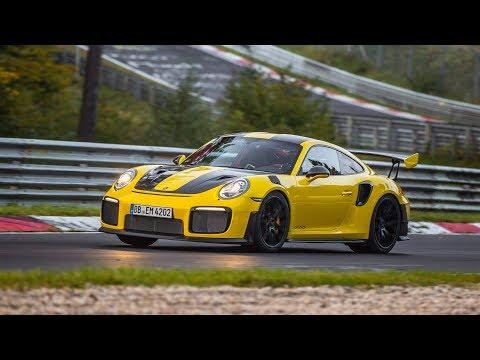 Porsche 911 GT2 RS Nürburgring Nordschleife record (full lap)
